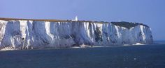The White Cliffs of Dover with the South Foreland Lighthouse