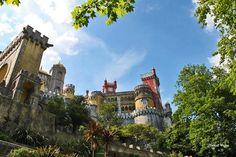 Palácio da Pena-Sintra, Portugal  http://www.facebook.com/absolutportugal