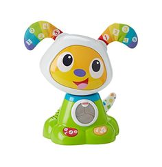 Who likes to move? This adorable toy dog does! Get the fun started by pressing the buttons on the paws of BeatBowWow to activate lively songs lights and dance moves. Little ones will love watching hi...