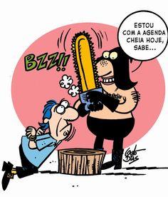Guto Dias Cartuns: Cartum Executor moderninho!