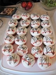 wwe cupcakes.... so doing this!