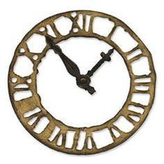 Bigz Weathered Clock