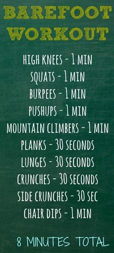 (Quiet except for the grunting during burpees.) From Mommies With Style.