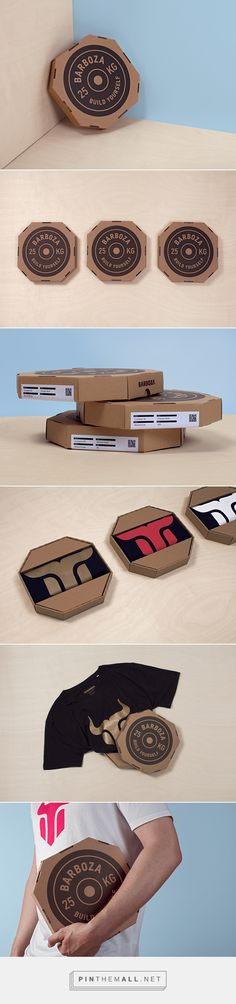 Barboza Packaging // Made from a combination of sustainable materials, the box is completely recyclable.
