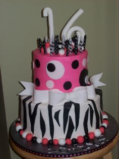 Sweet 16 By Tracyj on CakeCentral.com