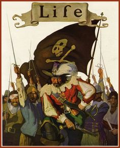 N.C. Wyeth, cover for Life, Sept. 22, 1921
