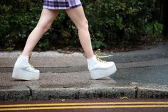 60 Inspiring Street-Style Snaps From LFW #refinery29  http://www.refinery29.com/london-fashion-week/street-style#slide27  Remember Buffalo boots in the '90s? Well, they're back.
