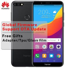 Huawei Honor Global Firmware Full View Screen Face ID Smartphone Android Qualcomm 450 Dual Rear Camera Camera Prices, Face Id, Emergency Call, Facial Recognition, Blue Mirrors, Multi Touch, Glass Film, Dual Sim