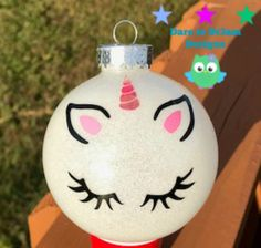Glitter Iphone 7 Plus Case Christmas Ball Ornaments Diy, Vinyl Ornaments, Unicorn Ornaments, Christmas Rock, Glitter Ornaments, Christmas Mantels, Christmas Balls, Creative Gift Wrapping, Xmas Decorations
