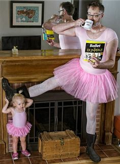 Dad behind amazing father-daughter photo series shares his secrets. (TODAY)