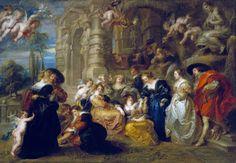 A short art story V, Rubens, Watteau and the european lust