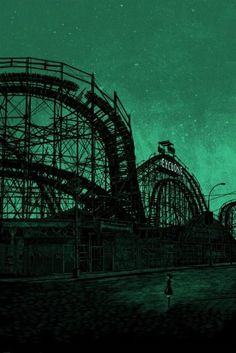 Abandoned Roller Coaster Collage Roller Coaster Coaster Art Time Art Arte Digital
