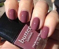 butter LONDON Toff ♥ Swatches and Review