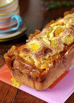 Gâteau aux pommes, simple, parfumé, et délicieux                                                                                                                                                                                 Plus