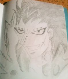 Gajeel Redfox, Fairy Tail. By: Mo Scarlet