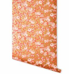 Rosa (Persimmon) Metallic Screen Printed from Rifle Paper Co - Personal Stylist - My personal heaven (within my closet)