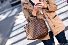 Louis Vuitton Speedy 30 in Damier Ebene - ugh.  Love this bag...