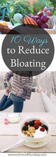 bloating remedies and 10 ways to drop holiday bloat from Pennsylvania healthy living blogger Lyndsey of mommafitlyndsey.com // bloating detox // bloating relief