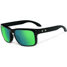 These were at the Oakleys out let and I almost paid the full $109 on the spot because I loved them so much! Oakley Holbrook Polarised Sunglasses - MATTE BLACK W/ EMERALD IRIDIUM POLARISED