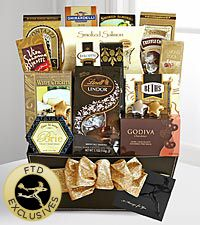 The FTD® Exclusive Fine and Fancy Gourmet Gift