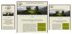 Odacrem Coffee Responsive Web Design