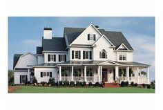 Plan a comfortable country escape with 8 giant farmhouse plans with 5 bedrooms