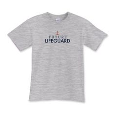 Future Lifeguard!  For the your favorite swimming kid who's growing up to be a beach superhero.  A portion of this tee shirt sale will help #NJ nonprofits after #Sandy. $22.99