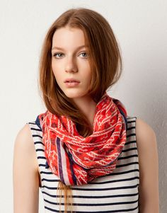 PRINTED FOULARD - SCARVES AND FOULARDS - WOMAN - Israel
