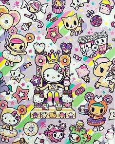Hello Kitty Backgrounds, Hello Kitty Wallpaper, Cute Wallpaper Backgrounds, Cute Wallpapers, Sanrio Wallpaper, Zebras, Hello Kitty Nails, Kawaii Tattoo, Pochacco