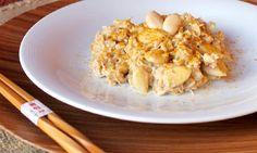 Le ricette di Cukò: Pollo al latte di cocco con mandorle e curry
