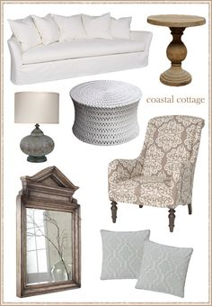 "Coastal Cottage Blog Post @LaylaGrayce... I will take one of each, thank you... but i reaaly love the ""pipa"" coctail table!"