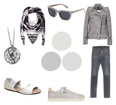 """""""Grey Hues"""" by thenandnowshop on Polyvore"""