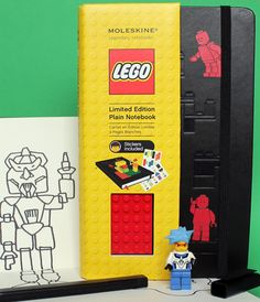 For boys that have every piece of Lego imagineable, these journals are great for scribbling and designing.