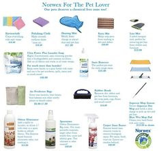 Norwex for Pet Lovers!