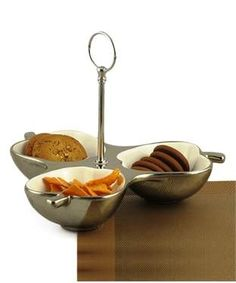 Serving Platter with 3 Compartments | I found an amazing deal at fashionandyou.com and I bet you'll love it too. Check it out!
