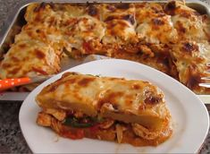 Cookbook Recipes, Cooking Recipes, Lasagna, Food And Drink, Chicken, Ethnic Recipes, Foods, Meals, Drinks
