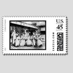 自由滿洲 Sulfan Manju ( Free  Manchuria)®: 2012美国邮政局发行的清国满洲族妇女合照邮票