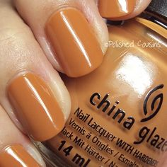 Caramel! really pretty for fall!