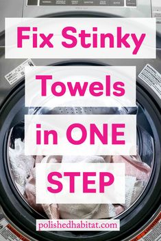 The CHEAP, ONE STEP Remedy to fix your stinky towels or any load of laundry that smells sour, moldy, or like mildew. Forget a load of laundry in th. Smelly Laundry, Smelly Towels, Washing Towels, Towels Smell, Laundry Tips, Laundry Room, Stinky Washing Machine, Smelly Clothes, Breien
