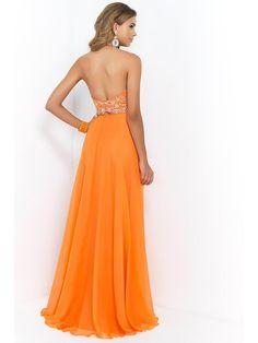 A-Line Princess Sleeveless High Neck Chiffon Beading Floor-Length Two Piece  Dresses 0aba6a7e2d34