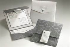 Silver Wedding Invitations Seasonal Wedding Invitation Color Ideas
