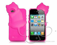 3D Murphy's Cat Series iPhone 4 and 4S Silicone Cases - Magenta @ http://j.mp/JXV9U7 #dsstyles