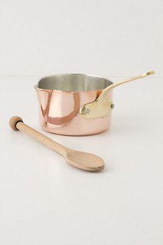 Ruffoni Copper Sauce Pan, $118