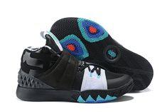 "huge discount 38dcf 68419 2018 Nike Kyrie S1 Hybrid ""Opening Night"" Black White Blue Free Shipping  Jordans Sneakers"