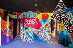 """""""Tour Paris 13"""", or when a project involves more than 100 street artists from around the world in an abandoned tower of Paris to create a huge temporary collect"""