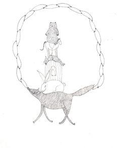 cute animal illustration.
