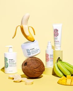 Long Layered Haircuts, Packaging Design Inspiration, Coconut Water, Superfood, Food Photography, Banana, Package Design, Pitch, Studio