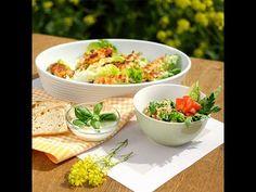XXXLecker: 2-in-1-Quinoa-Salat Gesunde Ernährung kann so einfach sein. Mit unserem 2-in-1-Quinoa-Salat Rezept zeigen wir dir wie. Dank einer Menge pflanzlichem Eiweiß und Mineralstoffen ist er eine gesunde Alternative zu Burgern, Pizza und Co. Wir wünschen euch einen guten Appetit!