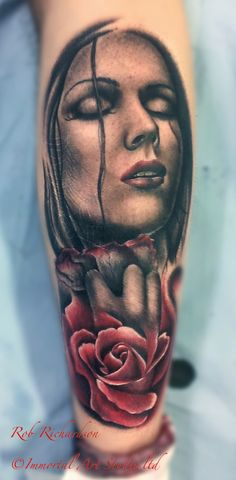 Tattoo by Rob Richardson at Immortal Art Custom Tattoo Studio in Carlisle, Cumbria, CA