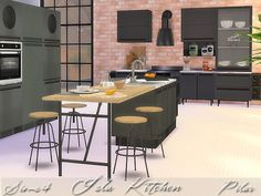Sims 4 CC's - The Best: Kitchen by Pilar